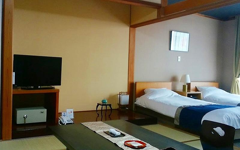 京都夕日ヶ浦温泉で愛犬と宿泊