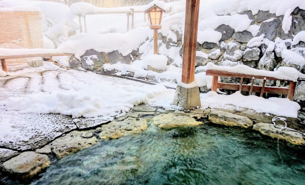 犬と泊まれる宿 北海道「 山の宿 野中温泉 」