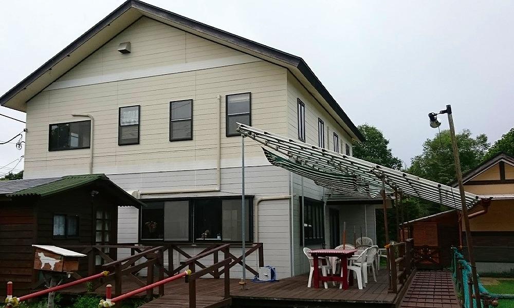 群馬県北軽井沢で愛犬と泊まれる宿