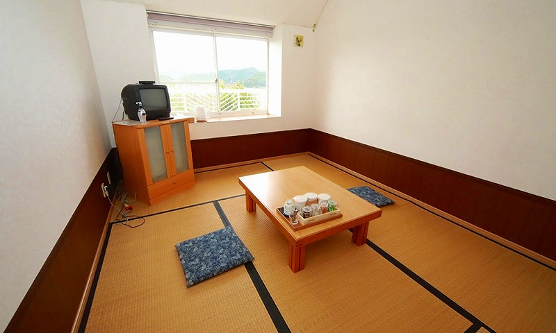 福島県久々子湖で愛犬と宿泊