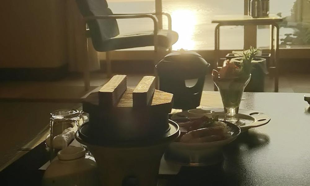 料理旅館夕日ヶ浦 口コミ 京都府夕日ヶ浦海岸でペットと泊まれる宿