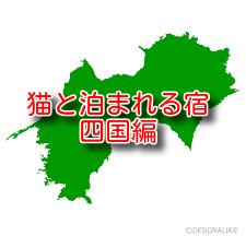 猫と泊まれる宿 4選 四国編