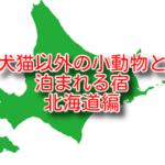 犬猫以外の小動物 ペットと泊まれる宿4選 北海道編